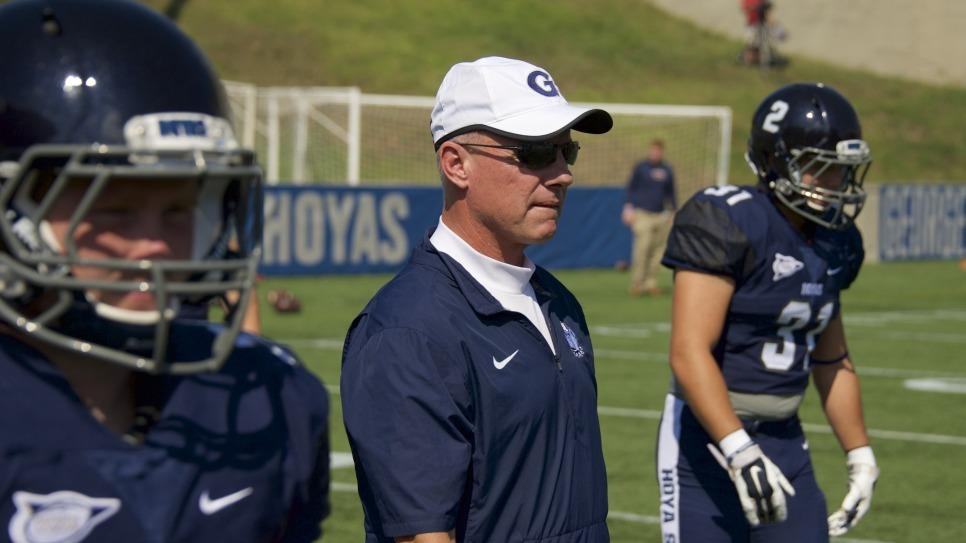 Defensive Coordinator Kevin Doherty